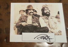 Tommy Chong actor comedian signed autographed card Up In Smoke ( Cheech )
