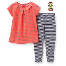 Carter's 2-pc Blouse and Legging Set 24 months Authentic and Brand New
