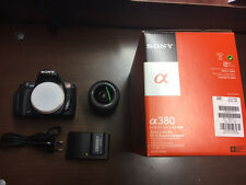 SONY Alpha A  380 DSR digitale Spiegelreflexkamera mit Zubehörpaket