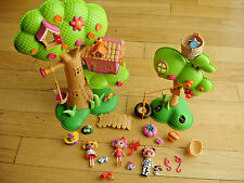 Lalaloopsy Tree House Lot accessories Mini Dolls Figures Doll House Girl Animals