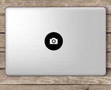 Camera Logo Photography Photographer - Apple Macbook Laptop Vinyl Sticker Decal