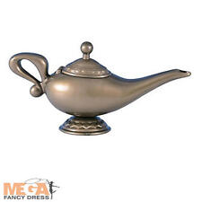 Genie Lamp Fancy Dress Aladdin Arabian Nights Boook Costume Kids Adult Accessory