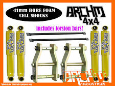 NISSAN D22 NAVARA ARCHM4X4 2INCH 50mm F&R SUSPENSION LIFT KIT (1997-ON)