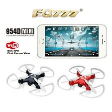 FQ777-954D WIFI FPV Drone with Camera RC Quadcopter BNF APP control F17862
