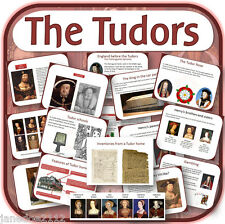 THE TUDORS & HENRY VIII KS2 History teaching resources LESSONS WORKSHEETS on CD