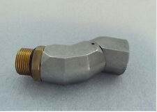 """New 360 Degree BSPP 3/4"""" Male to 3/4"""" Female fuel Swivel Hose universal joint"""