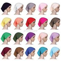 Modern Women Islamic Under Scarf Tube Bonnet Cap Bone Women Head Cover Hijab New