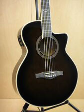 EKO NXT 018 CW EQ Straight Cutaway Electro-Acoustic Guitar, Dark Violin+Free bag