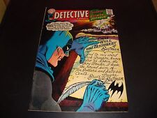 Detective Batman #366 Original DC Comic Book 1967 VF Condition 7.5 Elongated Man