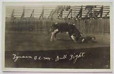 Postcard, Real Photo, Tijuana, Baja California, Mexico, Bull Fight