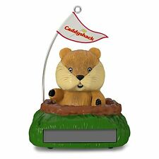 Groovy Gopher 2016 Hallmark Ornament CADDYSHACK Solar Motion  Golf  Bill Murray