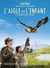 Affiche 40x60cm L'AIGLE ET L'ENFANT /BROTHERS OF THE WIND 2016 Jean Reno BE