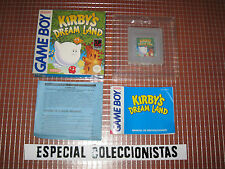 GB GAMEBOY KIRBY'S DREAM LAND PAL ESPAÑA COMPLETO GAME BOY CLASICA