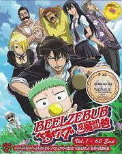 BEELZEBUB The Complete Anime TV Series Ep.1 - 60 End DVD Box Set ENG SUB