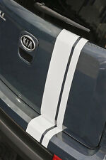 NEW KIA SOUL SPECIAL EDITION silver STRIPE KIT GRAPHIC 10 11 12 13 OEM