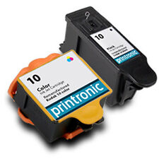 2Pk Kodak 10 Ink Cartridge Black Color for EasyShare 5100 5300 5500 ESP 3 E