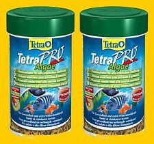 TetraPro Algae 2x500ml Premium Fischfutter f pflanzenfressende Fische wie Platys