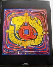 Friedensreich Hundertwasser  Poster The Small Way 14X11 Unsigned