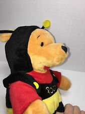 Winnie The Pooh Stuffed Toy Disney Bumblebee Costume 15 Inches 022416