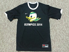 nike OLYMPICS 2014 eugene puddles ducks DRI FIT SHIRT (size M) great shape