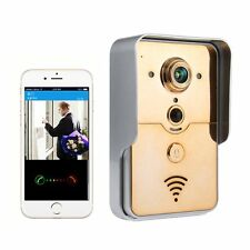 Smart Wireless WiFi Remote Video Camera Intercom Door Phone Doorbell Rainproof