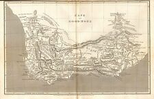 1807 ANTIQUE MAP- ARROWSMITH- CAPE OF GOOD HOPE