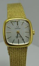 Omega Geneve Ladies Watch Retro Mesh Band/Bracelet - Gold Plated - Women's'