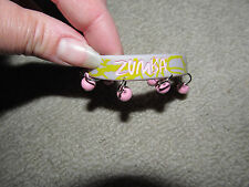 ZUMBA GRAY WRISTBAND STRETCHY BRACELET with BELLS JANGLES