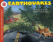 Earthquakes (Let's-Read-and-Find-Out Science 2) by Branley, Franklyn M., Good Bo