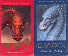 Complete Set Series - Lot of 4 Inheritance Books by Christopher Paolini Fantasy