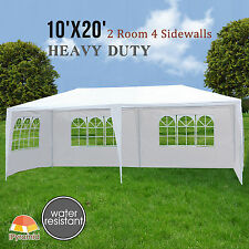 10'x20' Canopy Party Wedding Tent Heavy Duty Outdoor Gazebo Pavilion Cater Event