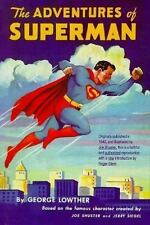 The Adventures of Superman by George Lowther (1995, Hardcover, Reprint)