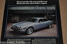 1975 JAGUAR advertisement, Jaguar XJ6, XJ12, British Leyland Motors