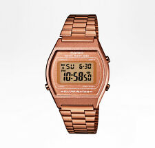 CASIO Uhr Retro Watch Digital Armbanduhr - rosegold - B640WC-5AEF
