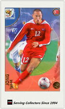 2010 Panini World Cup Soccer Trading Card Common No136 Jong Tae-se (Korea Dpr)