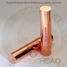 1 x 8oz Solid Copper Bullion Rod Half 1/2 Pound lb Shell Round Bar 5-10-16-20