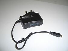 EURO AC Charger with Micro USB connector for Jabra Revo Storm Bluetooth Headset