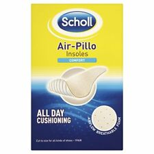 Scholl Air-Pillo Comfort Insoles  Cut to Foot Size 1 Pair