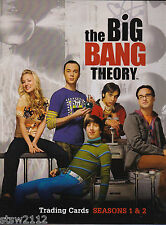 THE BIG BANG THEORY SEASONS 1 AND 2 MASTER SET ALL AUTOGRAPHS COSTUMES BINDER++