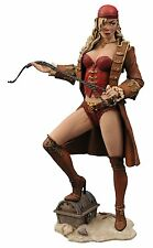 Femme Fatales Calico Jack Pirate Raider Anne Bonny Diamond Select PVC Statue NIB