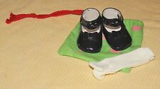 Navy Blue Lacquer Bow Shoes by Annette Himstedt for Lottchen Playdolls, NIP Rare
