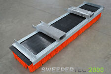 Forklift / Tractor mounted yard sweeper attachment,16 row brush, 2000mm long.