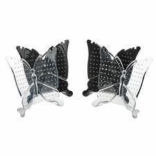 4pcs Présentoir Support Forme Papillon Porte Boucle d'Oreille Collier Bijoux