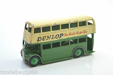 DINKY 29c DUNLOP DOUBLE DECKER BUS