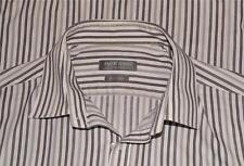 "Long Sleeve Stripe Shirt 17"" Jack Reid BHS 44"" Chest *Clean, Checked, Ready 4 U*"
