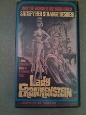 Lady Frankenstein VHS 1971 Something Weird Video Rare Cult B List Horror TESTED