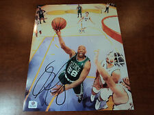 SAM CASSELL - Hand Signed Boston Celtics 8x10 Photo - GAI GA GLOBAL AUTHENTICS