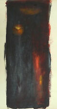 LEBADANG ORIGINAL PAINTING MIXED MEDIA ON PAPER SIGNED VIETNAMESE FRENCH