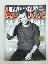 ESQUIRE MAGAZINE August 2013 MATT DAMON John Oliver Jon Voight Stewart  130 pgs