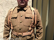 Canadian 1899 Oliver Pattern Leather Yoke and Cape Brace